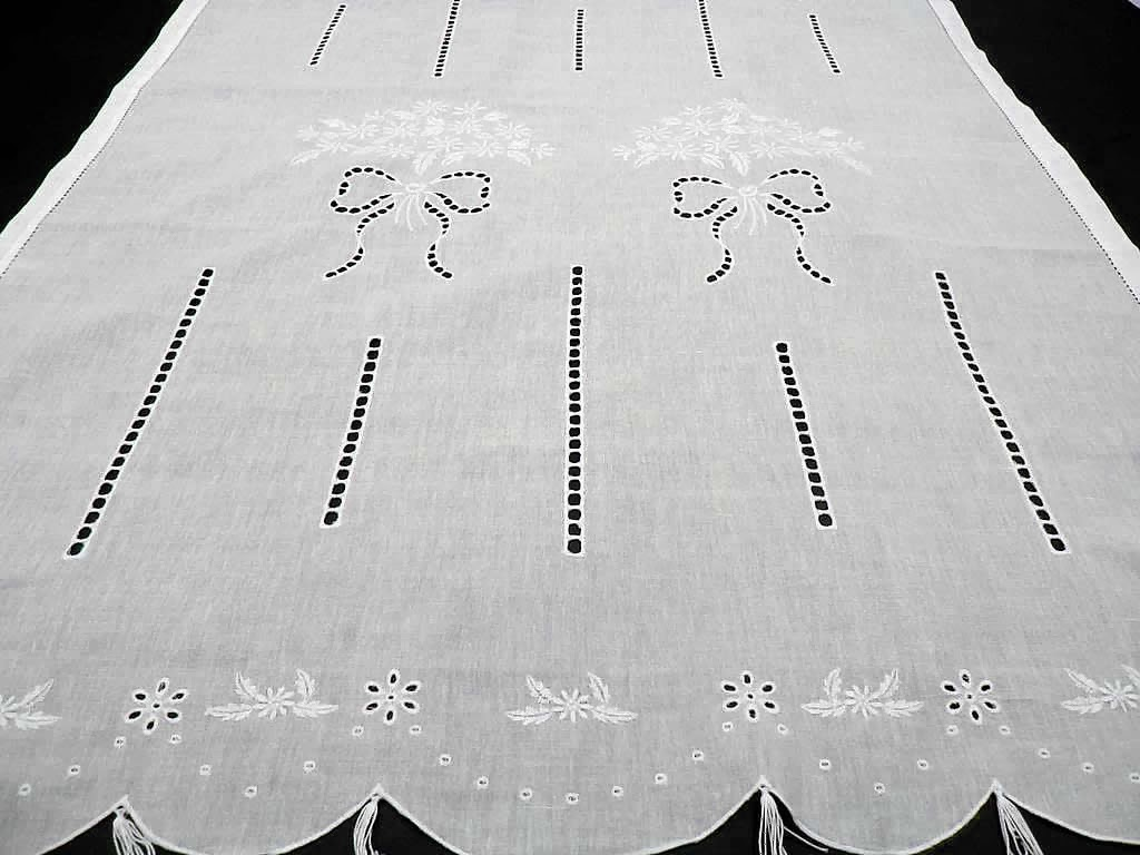 Cortinas r sticas para ventanas decorando tu hogar - Visillos para salones ...