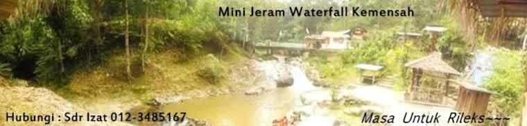 Mini WaterFall Kemensah