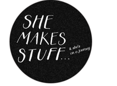 she makes stuff...