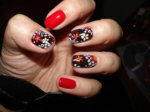 acrylic nails nail design