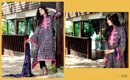 Firdous Korean Linen Collection 2014