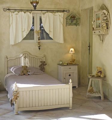 Dise os de dormitorios vintage decorar tu habitaci n - Dormitorios infantiles vintage ...