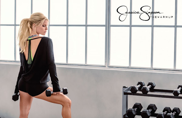 Actress, Singer, @ Jessica Simpson – The Warmup Collection Promos