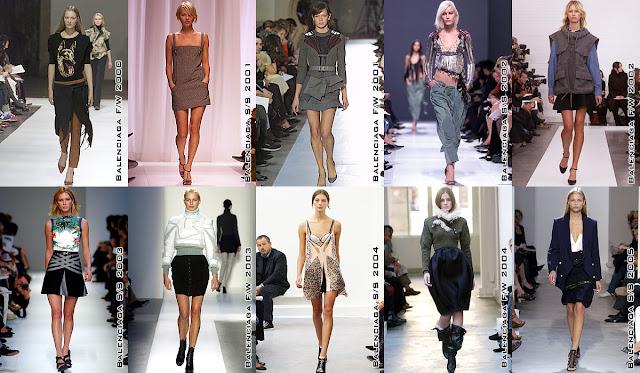 Fashion Show Nicolas Ghuesquiere Balenciaga
