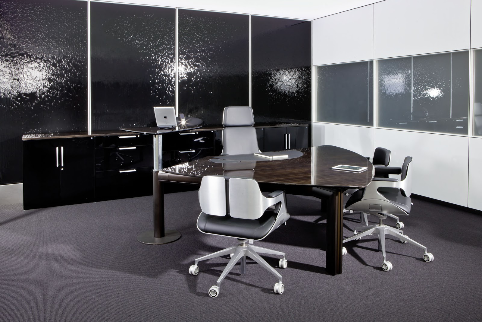 Colour up your office !: Hier ist Ihr Chefzimmer Zebrano Ebenholz ...