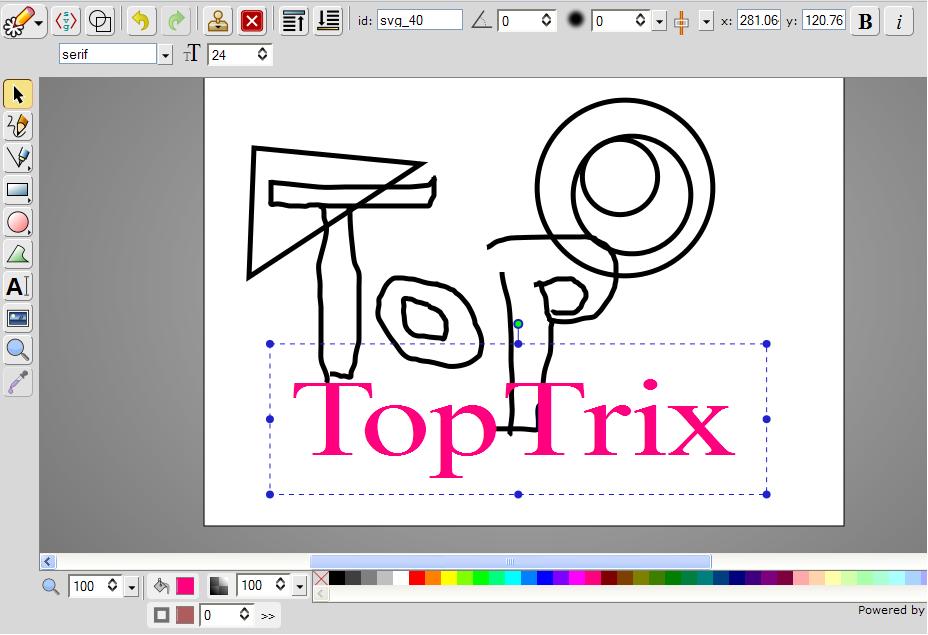Online Vector Graphics Svg Editor Toptrix