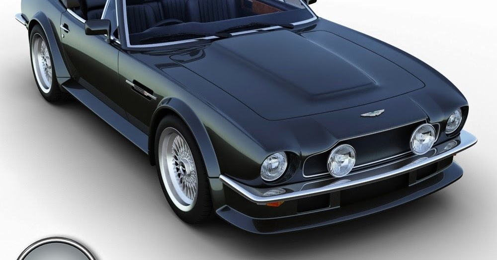 3d art reactor 3d model aston martin v8 vantage volante convertible. Cars Review. Best American Auto & Cars Review