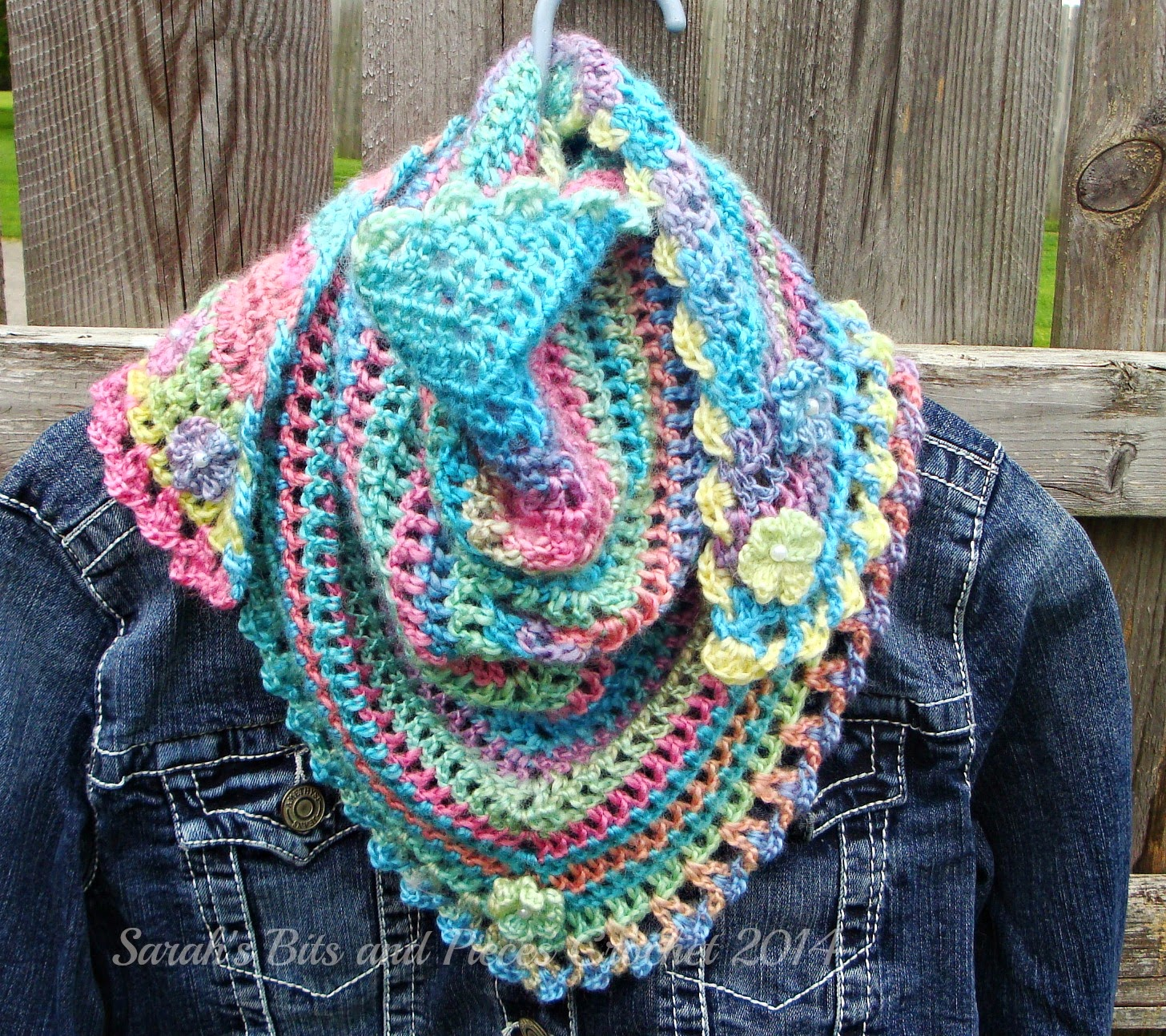 Sarah\'s Bits and Pieces Crochet: Road Trip Scarf