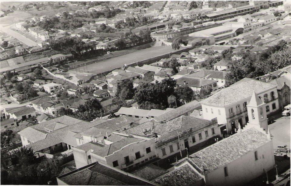 Igreja do Rosario Vista aerea - Barbacena MG