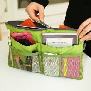 Korean Bag In Bag Organizer Murah Canik Colorfull Tas Untuk Menyimpan Tablet Ipad Laptop BB