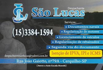 DESPACHANTE SÃO LUCAS