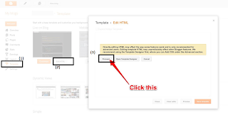 Add Syntax Highlighter Script on your blogger blog