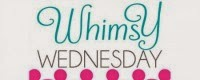 Whimsy Wednesday Button