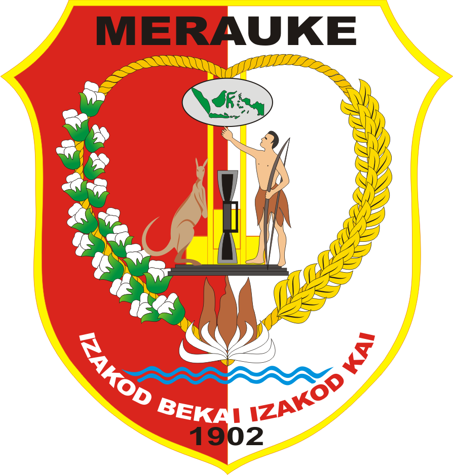 Merauke Indonesia  city photos gallery : Logo Kabupaten Merauke Kumpulan Logo Indonesia