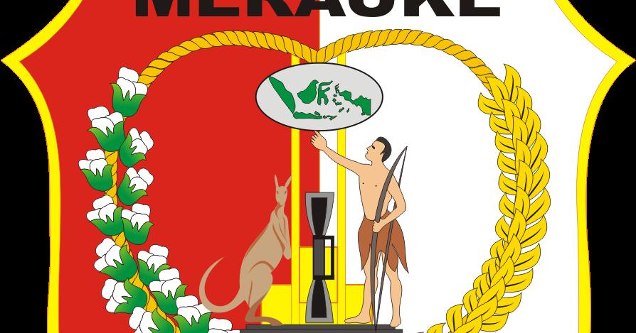 Logo Kabupaten Merauke Kumpulan Logo Indonesia Gambarlin
