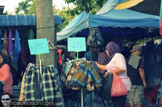 Pasar Kemboja Original Jalan Sempadan