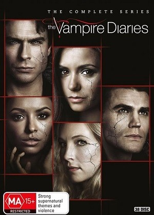 The Vampire Diaries - Todas as Temporadas Completas Séries Torrent Download capa