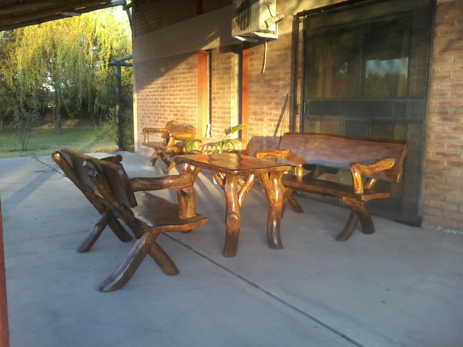 Hermosos y originales juegos de sillones o bancas con mesa alta o