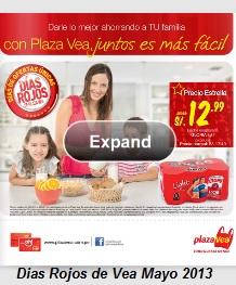 dias rojos plaza vea 5-2013