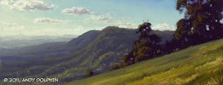 digital painting gold coast tambourine mountain qld