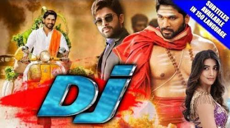 Poster Of Free Download Duvvada Jagannadham 2017 300MB Full Movie Hindi Dubbed 720P Bluray HD HEVC Small Size Pc Movie Only At pueblosabandonados.com