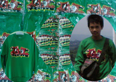 Sweater Tanpa Kupluk SMP PUTRA PAKUAN BOGOR