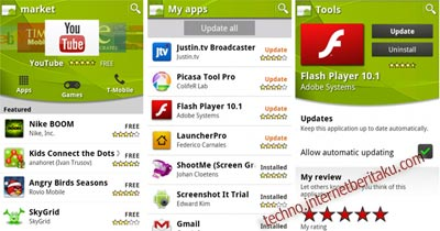 Uninstall Aplikasi Android via Android Market