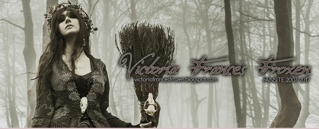 [ .·::´,★◊ † Ƹ̵̡Ӝ̵̨̄Ʒ Victoria Francés Frozen Ƹ̵̡Ӝ̵̨̄Ʒ † ◊★,`::·. ]
