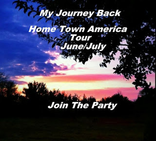 Home Town America Red, White and Bue Linky Party
