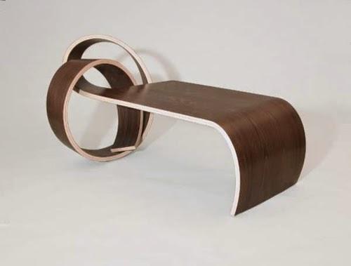 Modern Wood Coffee Table Creative Artistic Design