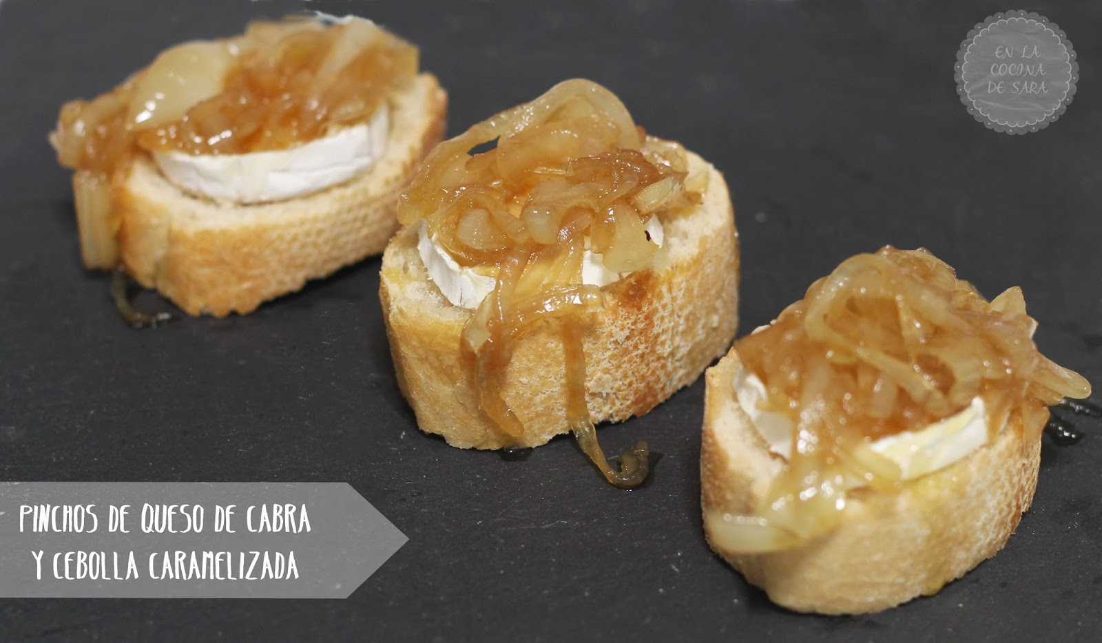 pinchos de queso de cabra