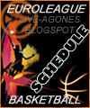 EUROLEAGUE BASKET SCHEDULE  | STANDINGS 