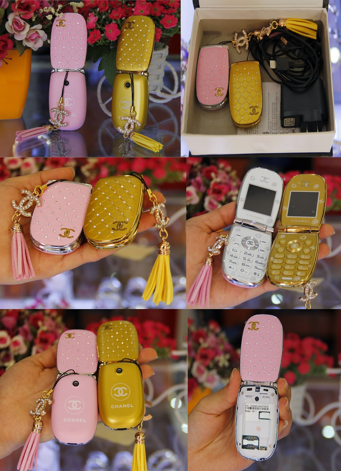 Điện thoại Chanel W11 trun quoc