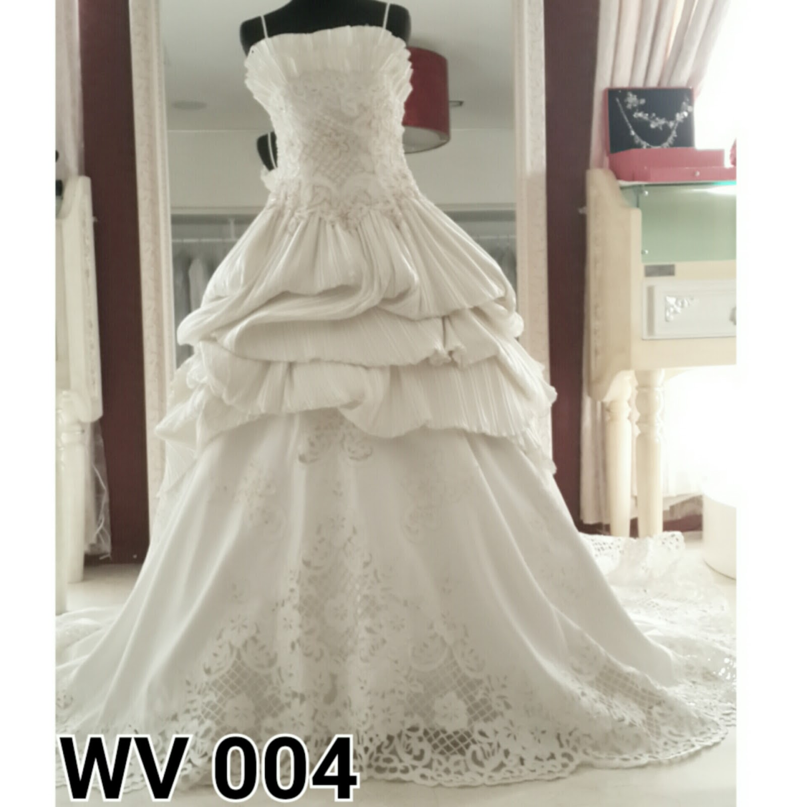 JUAL WEDDING GOWN IMPORT HIGH QUALITY PO WEDDING GOWN
