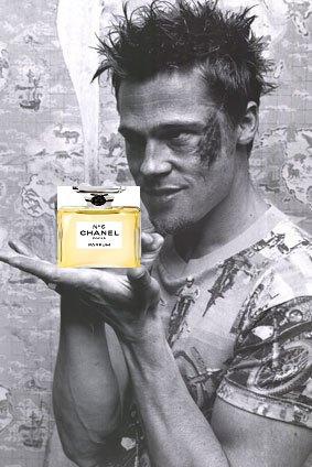 Perfume Shrine: Brad Pitt as New Face for Chanel ~but for ...