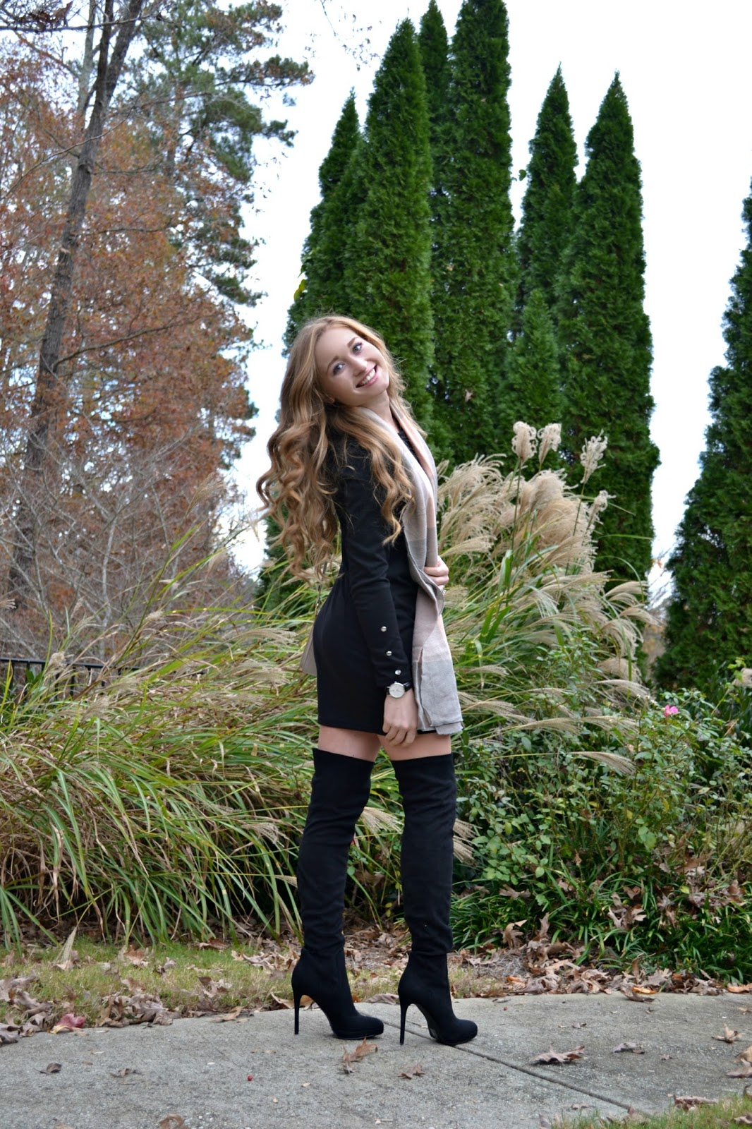 classy♡style: Over The Knee High Boots