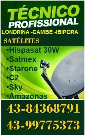 Antenas no Cinção 43-99775373 ,Parigot,Jd,Santa Rita,Aquiles,Vila Recreio,Casoni,Perobal,Bancarios,