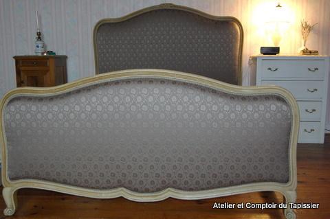 atelier et comptoir du tapissier t te et pied de lit. Black Bedroom Furniture Sets. Home Design Ideas