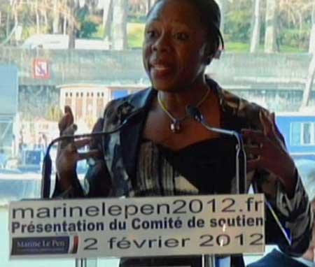 Front national : les Africains de Marine Le Pen Rosine+Nahounou