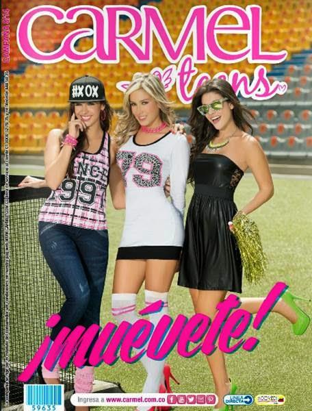 catalogo carmel campaña 8 2014 teens