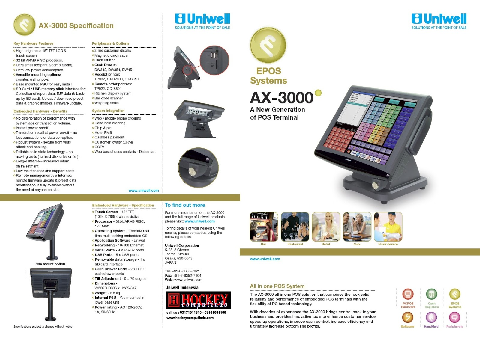 uniwell dx 895 programming manual
