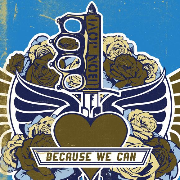 Carátula del disco de Bon Jovi en el que nos inspiramos