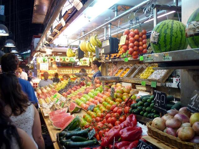 tre giorni a barcellona, mercato de la boqueria