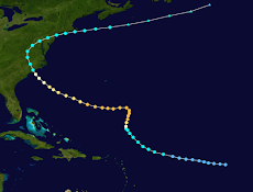 August 19: Hurricane Diane