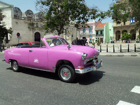 Classic Car in islands