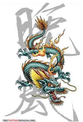 Design Tattoo Naga - Dragon Tattoos Design