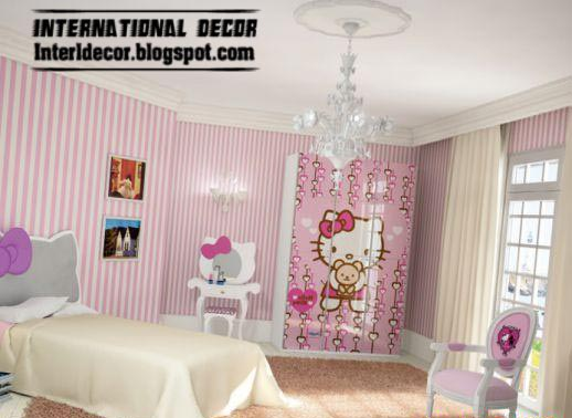 Interior Decor Idea: Hello Kitty Bedroom Themes And Design Ideas .