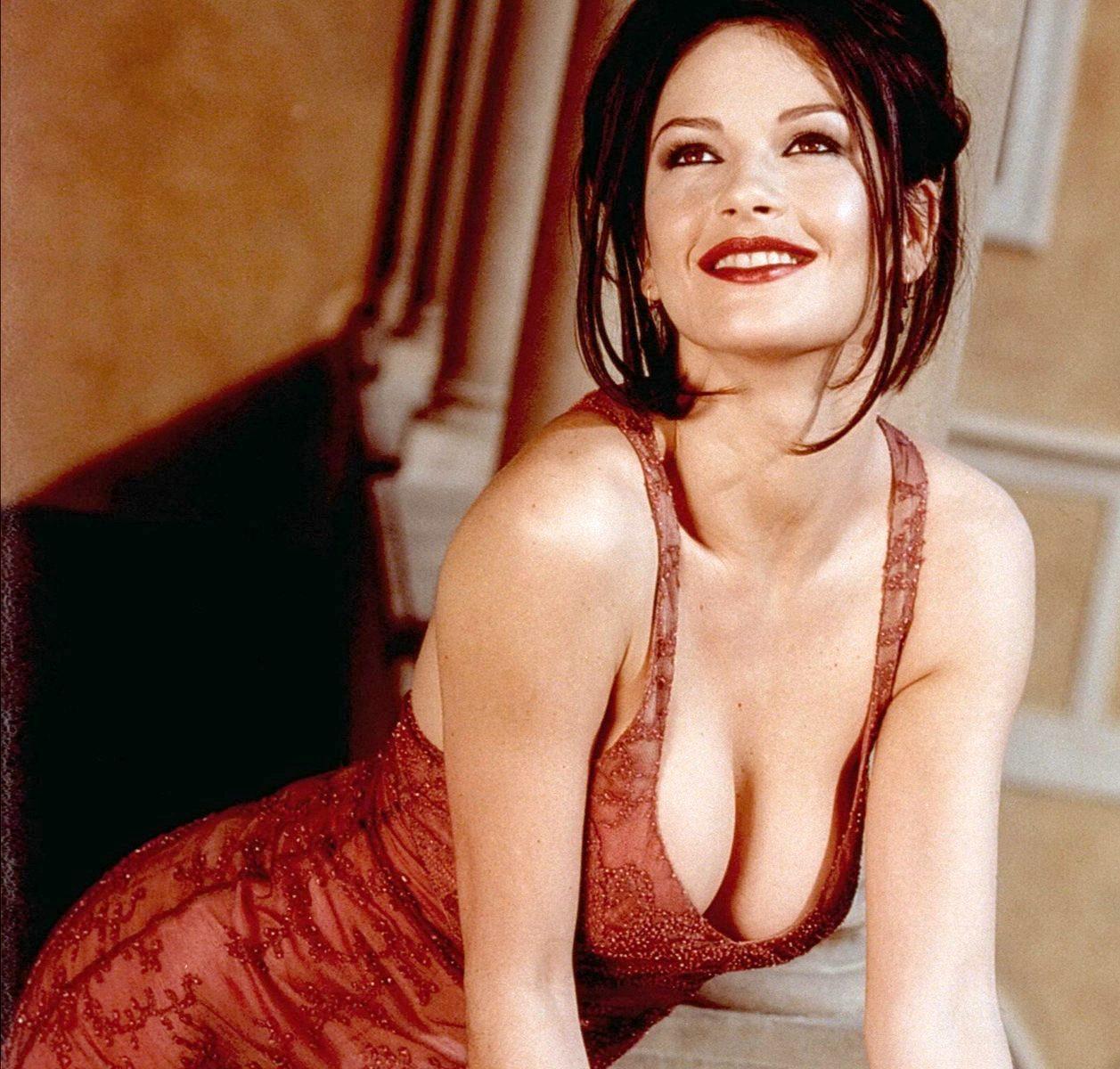 Catherine zeta johns naked