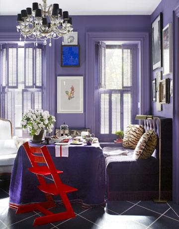 Beautiful Abodes Using Purple