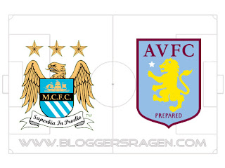 Pertandingan Aston Villa vs Manchester City